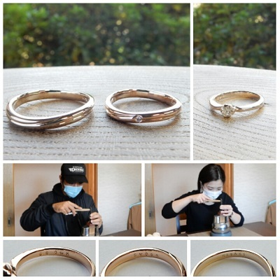 婚約指輪と結婚指輪 | 岡山_d0237570_14245225.jpg