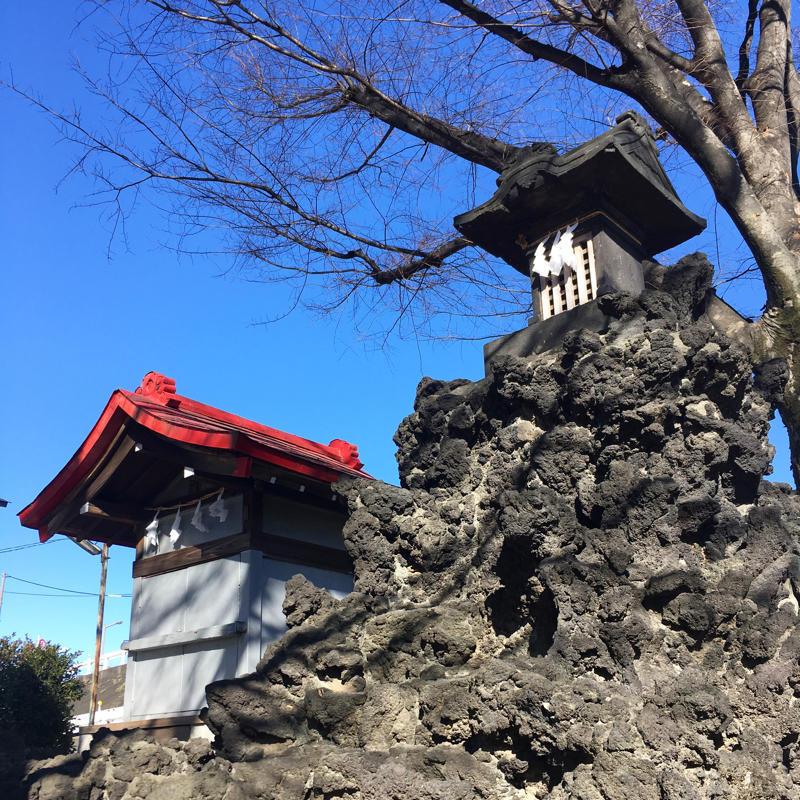 宮城氷川神社で富士塚登山_c0060143_13284132.jpg