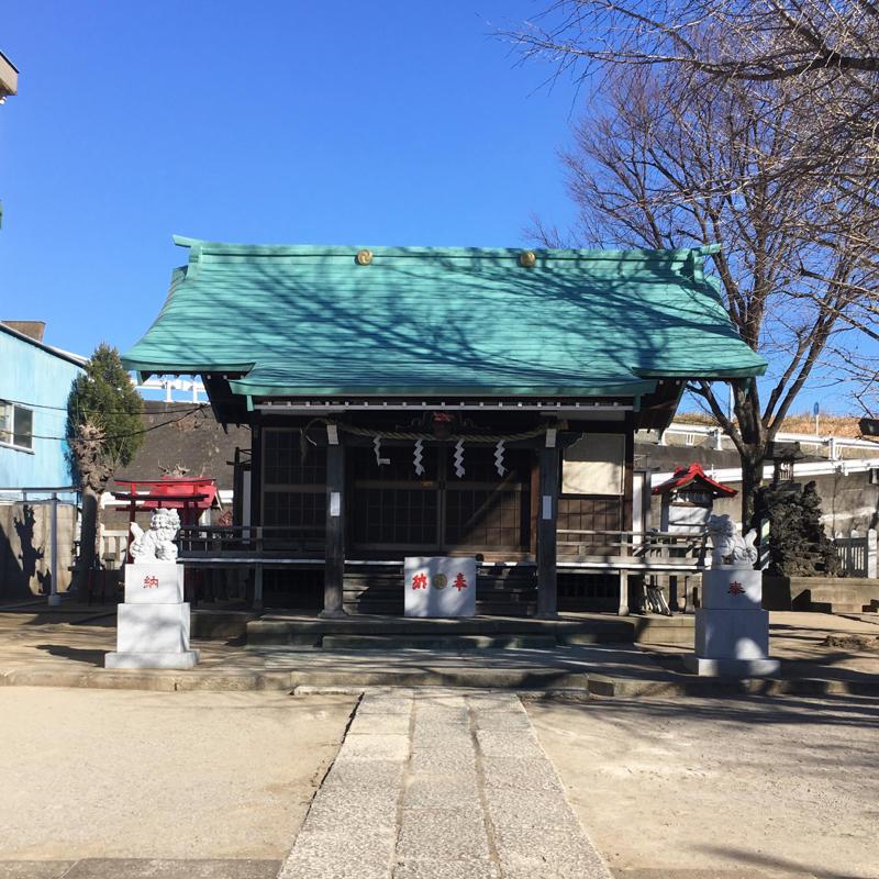 宮城氷川神社で富士塚登山_c0060143_13291589.jpg
