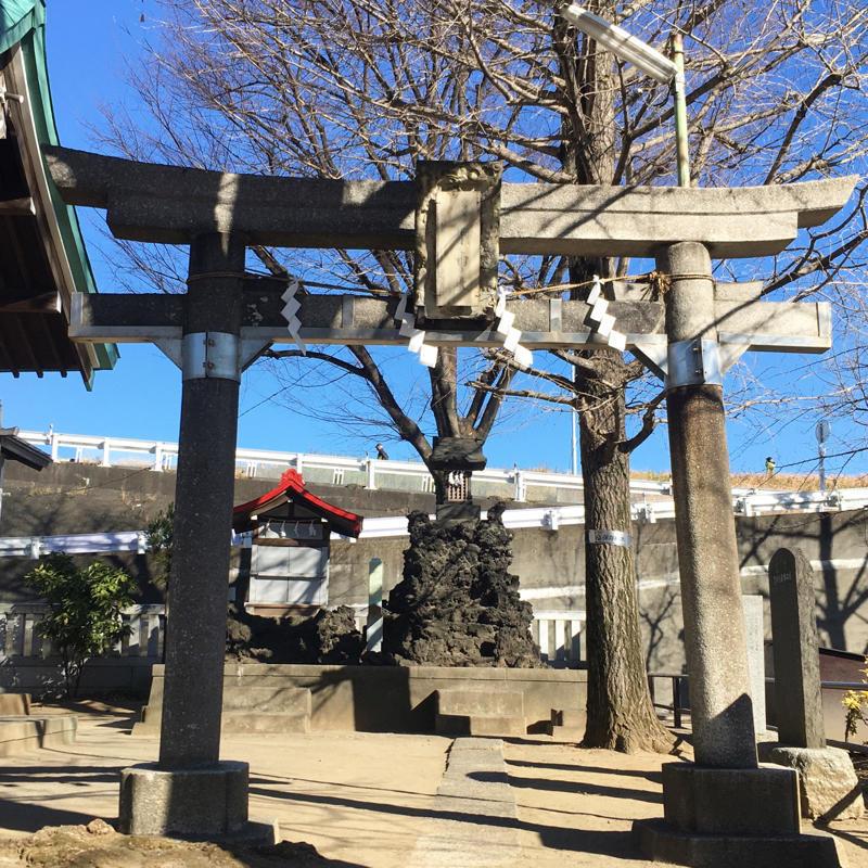 宮城氷川神社で富士塚登山_c0060143_13291797.jpg