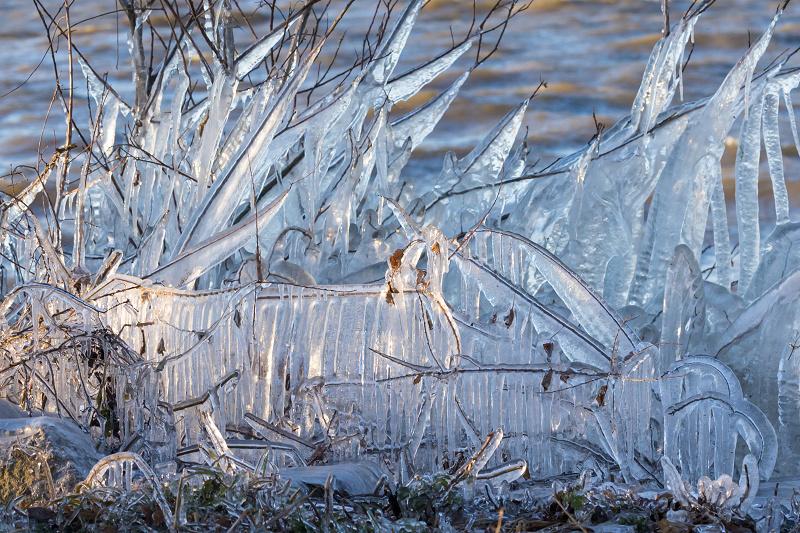 飛沫氷のある朝の情景(琵琶湖)_f0155048_18225012.jpg