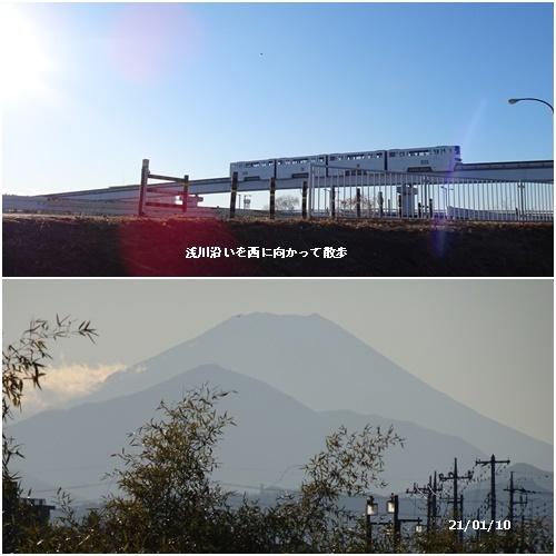 ダイヤモンド富士 散歩 高校サッカー決勝 _c0051105_20453274.jpg