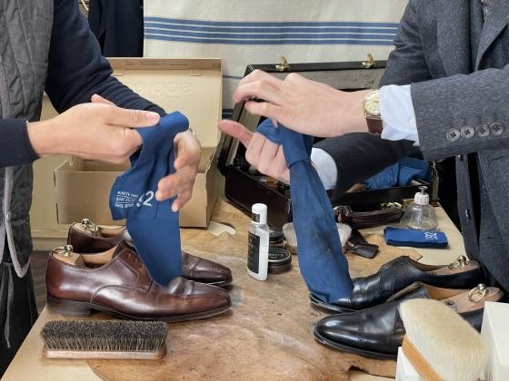 1/10 靴磨きイベントを終えて。_b0081010_19083136.jpeg