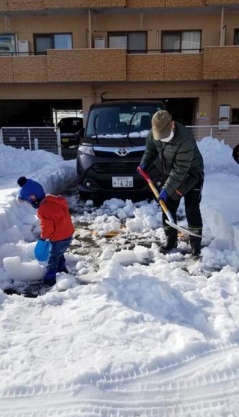 脱出成功、大雪お見舞いありがとうございます。_b0151911_23314621.jpg