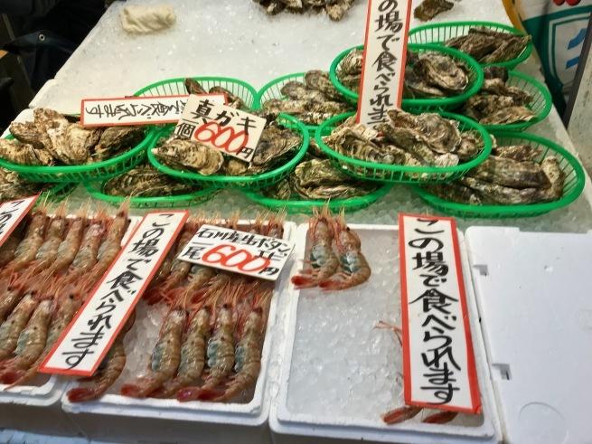 近江町市場で前菜!!──「忠村水産 小売部」(冬の北陸ドライブ旅行 その1)_d0352022_12484395.jpg