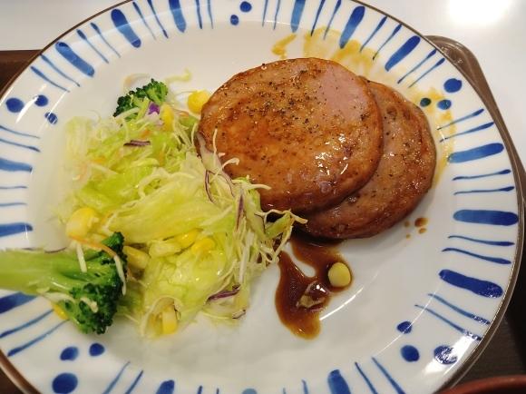1/12 すき家 粗引きソーセージ定食¥400_b0042308_12271715.jpg