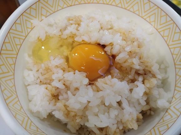 1/12 すき家 粗引きソーセージ定食¥400_b0042308_12273671.jpg