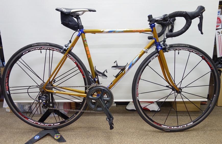 MBK クラブレーサー フルオーダーミックスパイプアレンジ ロードバイクPROKU_b0225442_19410317.jpg