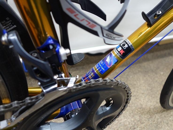 MBK クラブレーサー フルオーダーミックスパイプアレンジ ロードバイクPROKU_b0225442_19410662.jpg