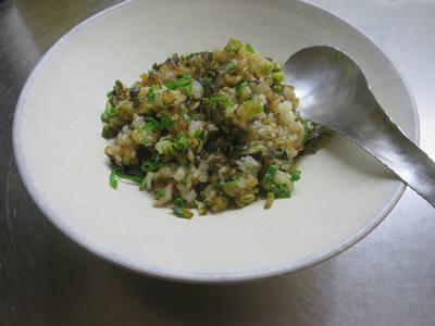 蕪のミルク煮と炒飯_e0262651_17424559.jpg