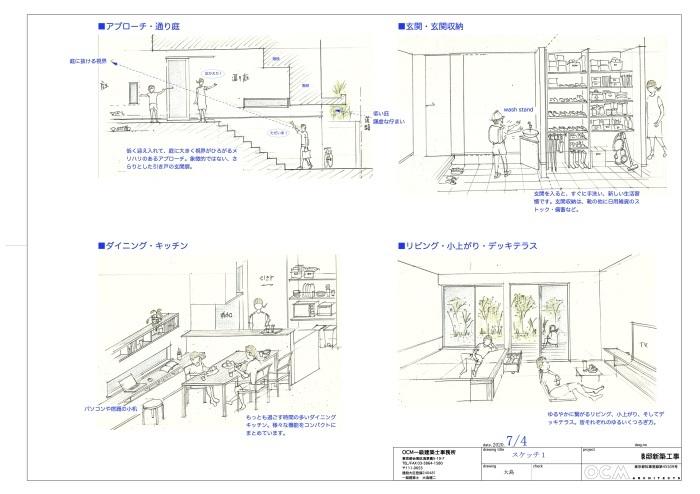 「横浜港北の家」プレゼンテーション_f0230666_08555848.jpg