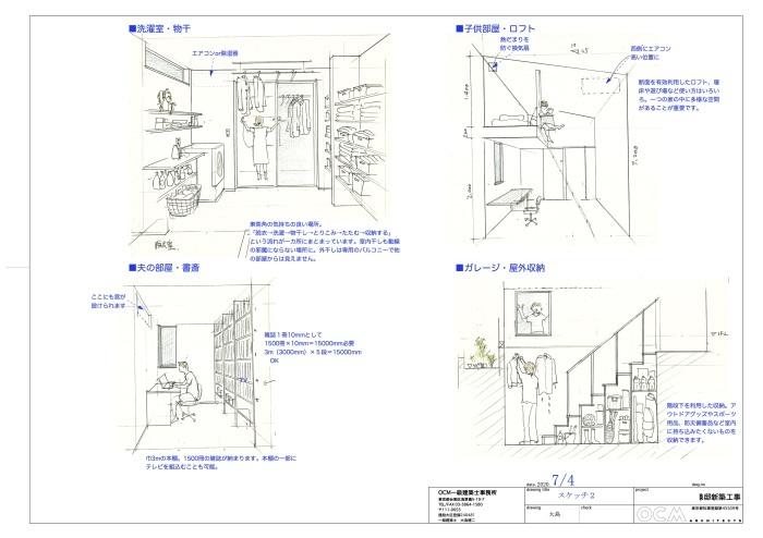 「横浜港北の家」プレゼンテーション_f0230666_08560424.jpg
