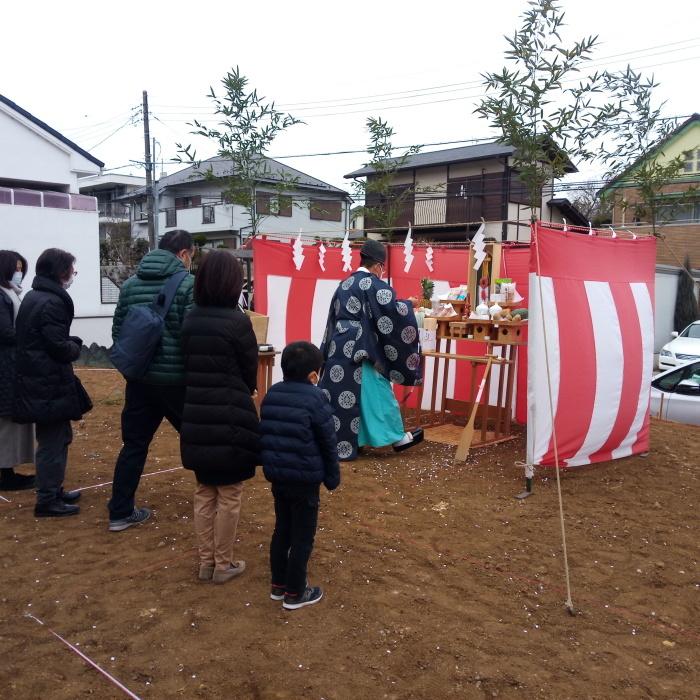 「横浜港北の家」地鎮祭_f0230666_09070990.jpg