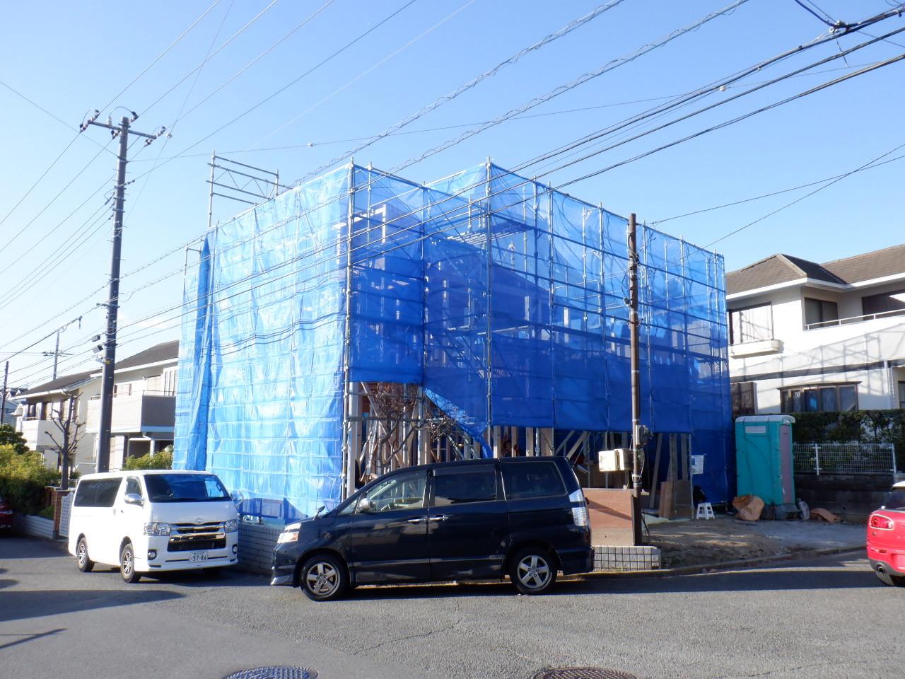 「横浜青葉台の家」上棟_f0230666_09240086.jpg