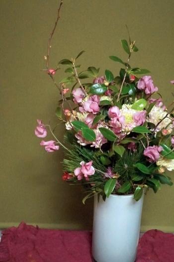新春のお花です(^^♪_b0151911_23464798.jpg