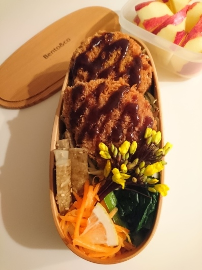 2021/1/13ソースカツ丼弁当_c0317717_05441145.jpg