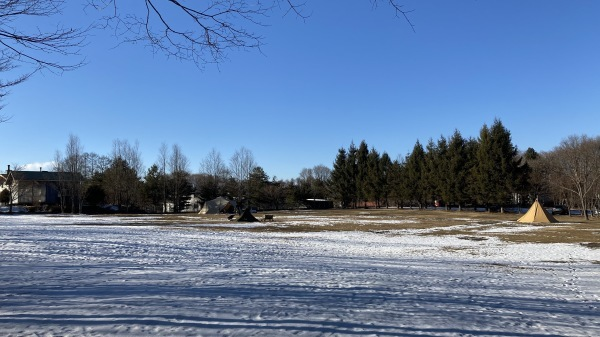 雪降るも雪解けのスピードいと早し。フィールドの様子は?_b0174425_15030644.jpg