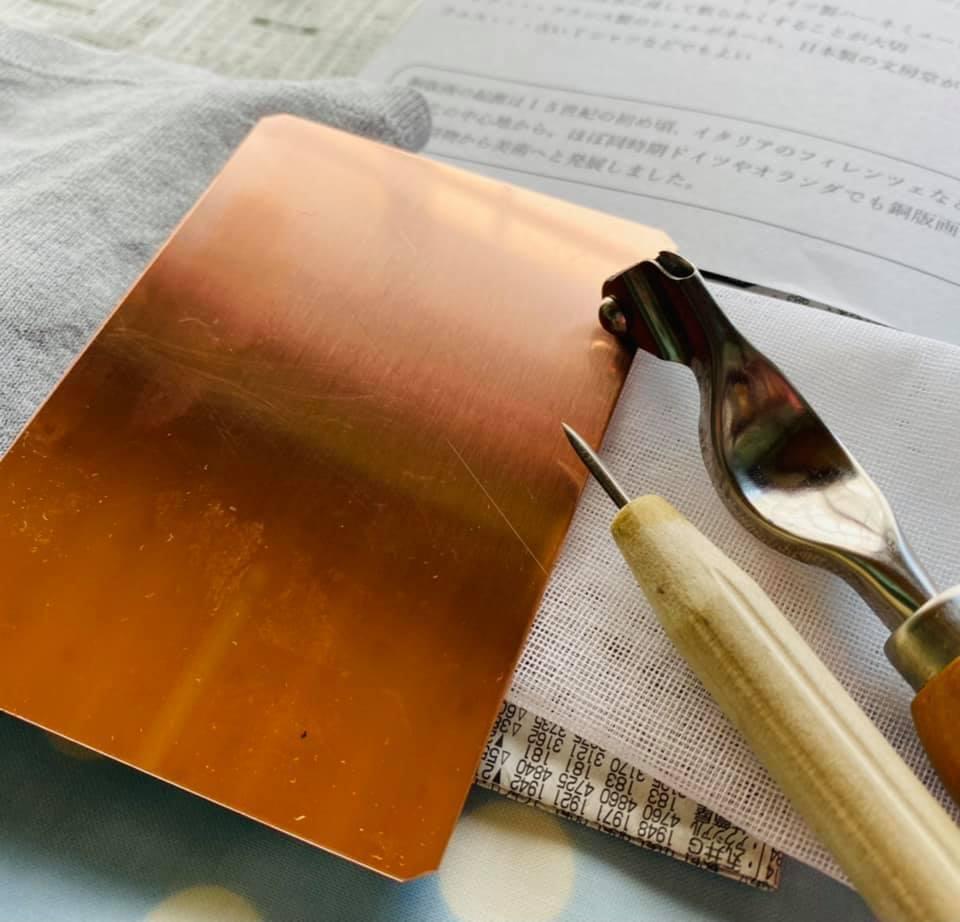 前回の銅版画のワークショップのことと、感染予防対策について_f0129557_10073589.jpg