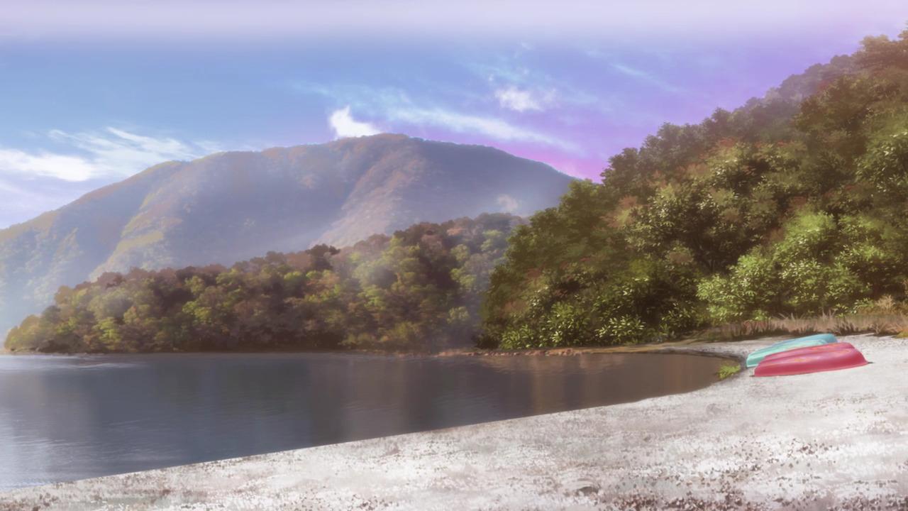 「ゆるキャン△S2」舞台探訪01 身延町古関と本栖湖洪庵キャンプ場(第1話1/3)_e0304702_20543843.jpg
