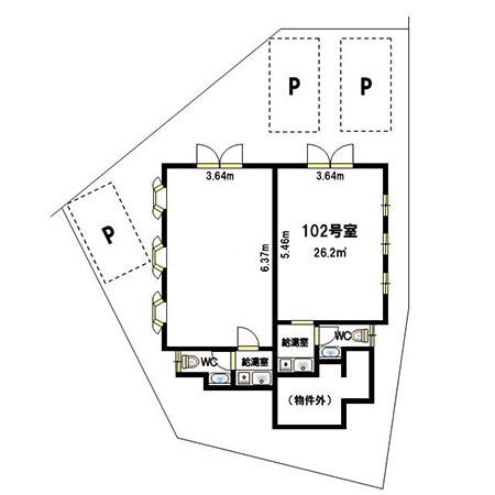 兵庫県 明石市二見町東二見 山陽東二見駅から徒歩2分 約7.9坪 駐車場1台付き 事務所内装付き 1階テナント_a0129705_01092916.jpg
