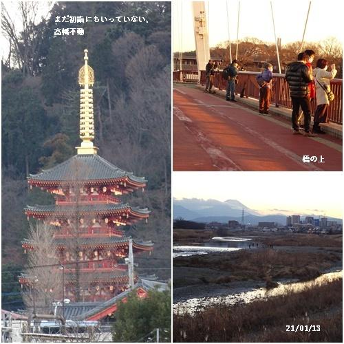 ダイヤモンド富士 散歩 高校サッカー決勝 _c0051105_11405565.jpg