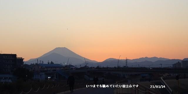 ダイヤモンド富士 散歩 高校サッカー決勝 _c0051105_23064972.jpg