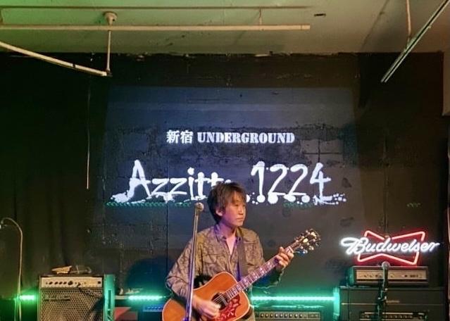 2021.1.16  新宿 UNDERGROUND Azzitto 1224 ライブへ向けて_d0359212_22511849.jpg