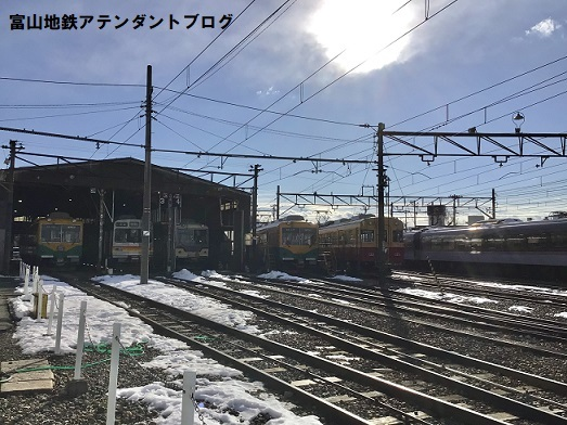 令和3年1月……大雪でした - [富山地方鉄道公認]富山地鉄の鉄道アテンダント日誌