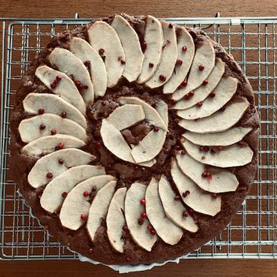 スパイスとりんごのケーキ_b0102217_12502366.jpg