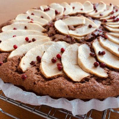 スパイスとりんごのケーキ_b0102217_12514852.jpg