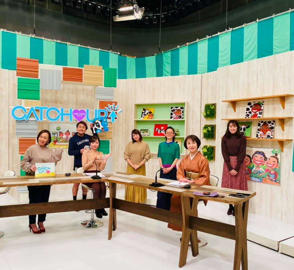AKT秋田テレビ様✴︎マリマリプラス✴︎_e0197227_15342126.jpg