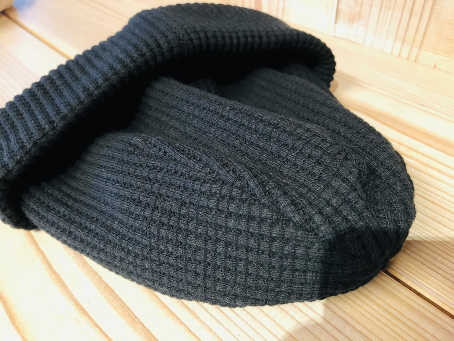 ■Waffle Knit Cap /Jackman_b0139233_11192215.jpg