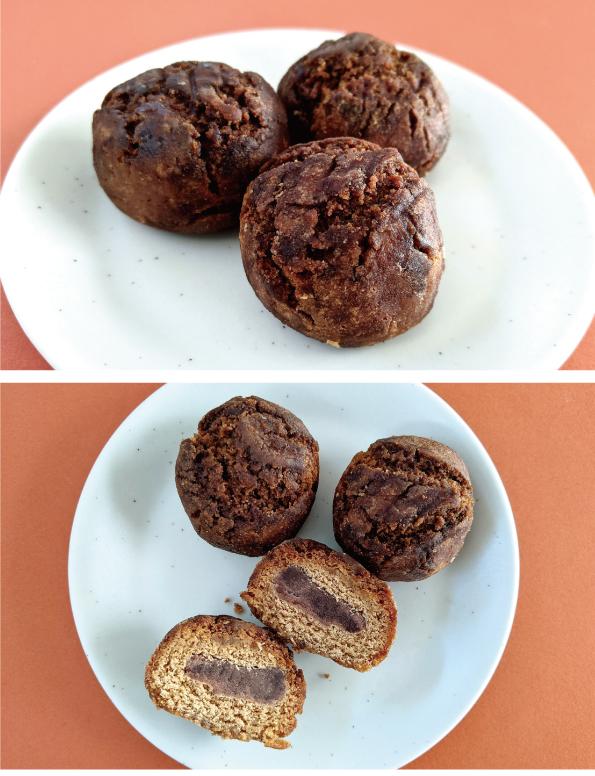 【袋ドーナツ】山崎製パン「黒糖こしあんドーナツ」【さくっとおいしい】_d0272182_14481594.jpg