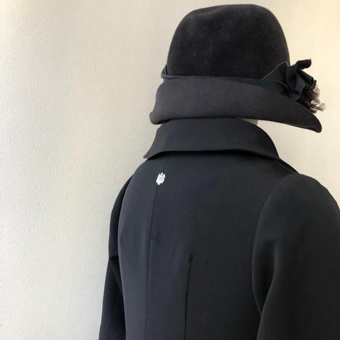 着物リメイク・お着物から喪服ワンピ_d0127925_12273727.jpg