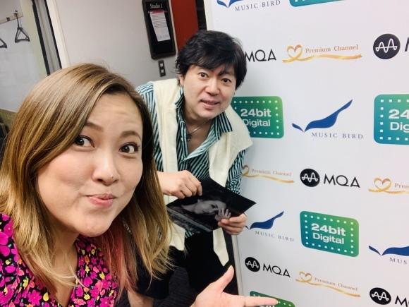 Music Bird 大西貴文さんの番組THE NITE ゲスト&平麻美子さんの番組Weekend Jazz Meetupでゲスト出演_a0150139_15290508.jpeg