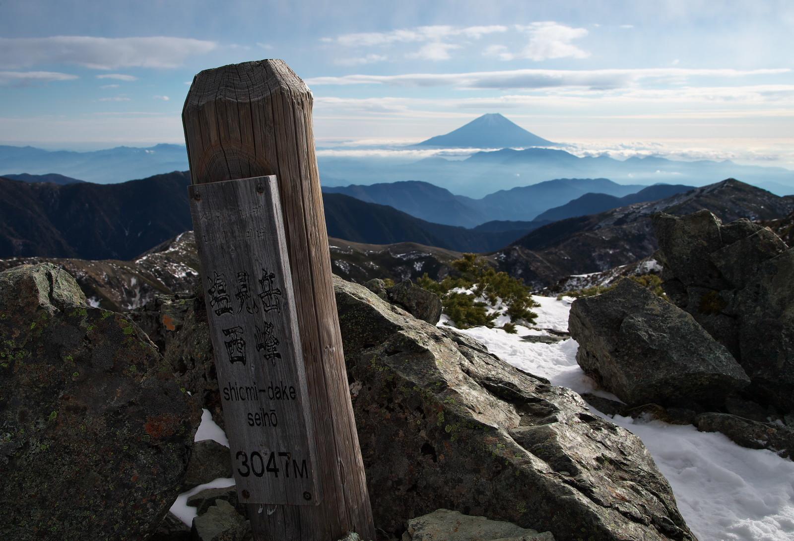 塩見岳_c0169106_20330242.jpg