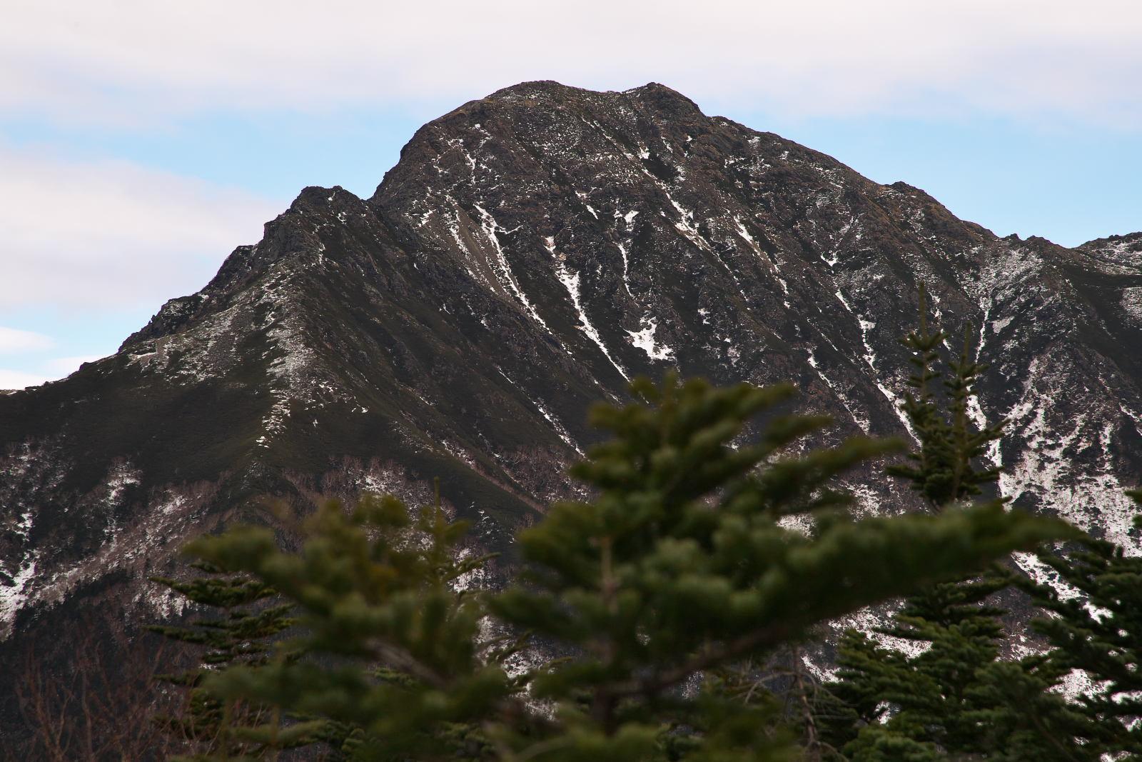 塩見岳_c0169106_20345326.jpg