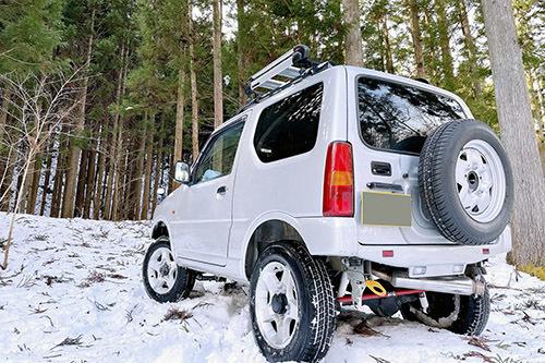 ジムニーで雪の積もった森へ行ってみた_c0148812_20402017.jpeg
