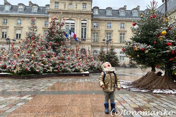 束の間のパリの雪遊び_c0024345_17522864.jpg