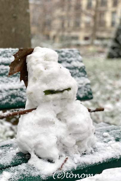 束の間のパリの雪遊び_c0024345_17522967.jpg
