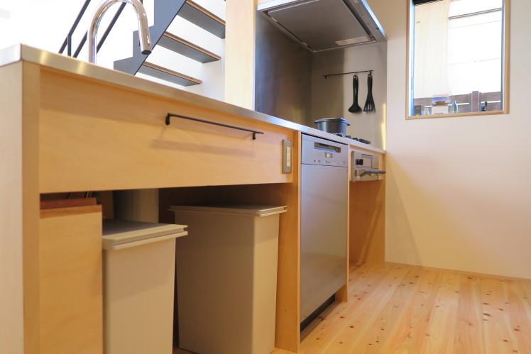 毎日の食器洗いを優しく美しく。★造作キッチン取付事例_c0156359_10305222.jpg