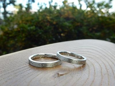 海の中をモチーフにした結婚指輪 オーダーメイド|岡山_d0237570_13244385.jpg