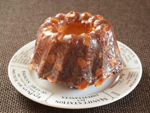 日々のお菓子作り~オレンジとアーモンドのクグロフ~_c0213947_15222219.jpg