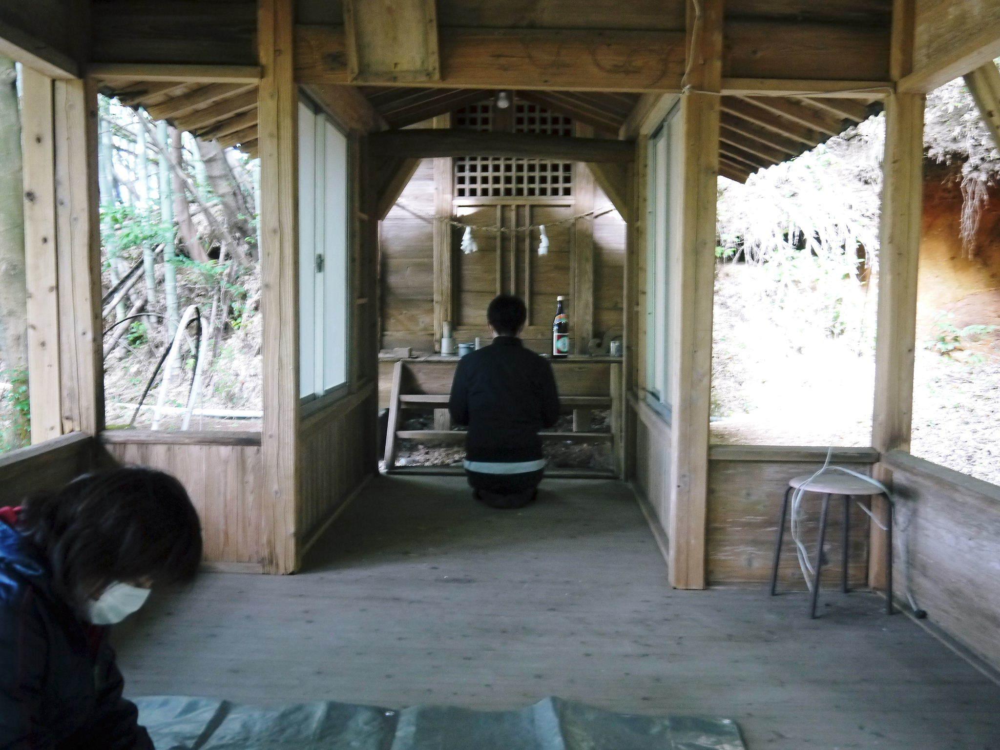 「御願立て」と「どんどや」 熊本県菊池市伊牟田の年行事(2021)_a0254656_17065049.jpg