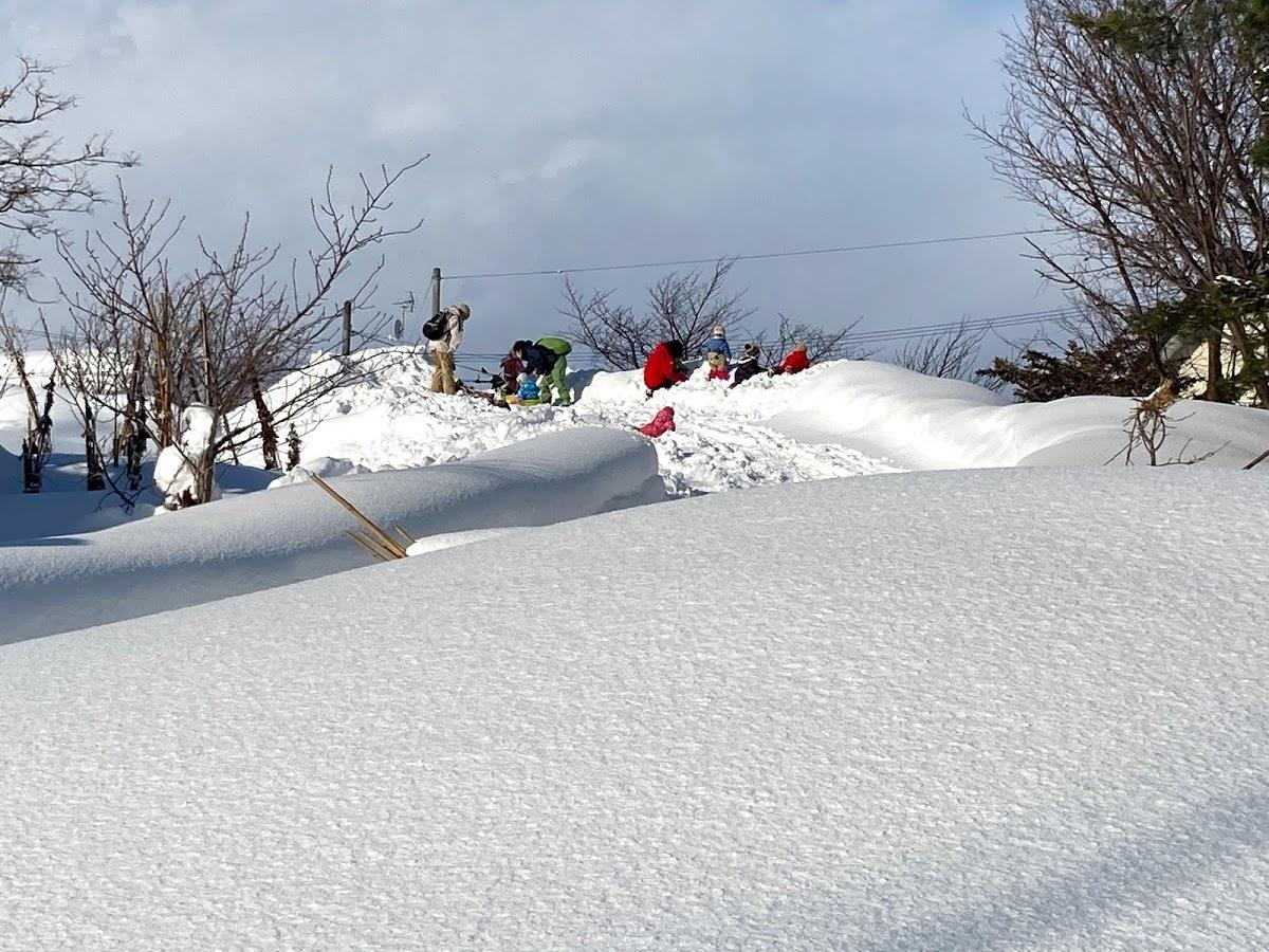 豪雪の中/あおぞら保育園_c0189970_09192357.jpg
