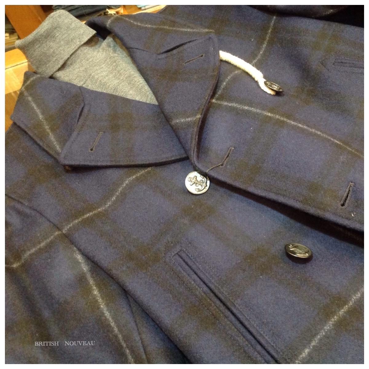Check de  P coat  (^O^)_f0039487_11213607.jpg