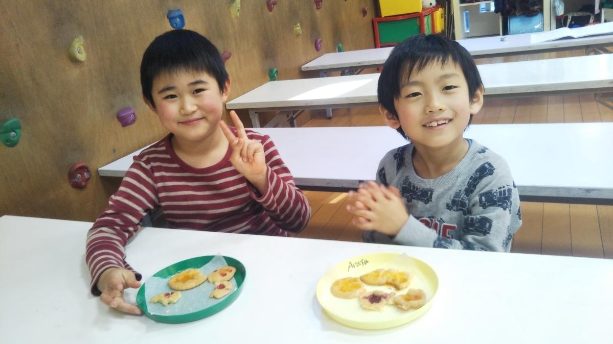 【Snack Cooking】1月13日 『ステンドグラスクッキーづくりに挑戦!』_f0225094_14045692.jpg