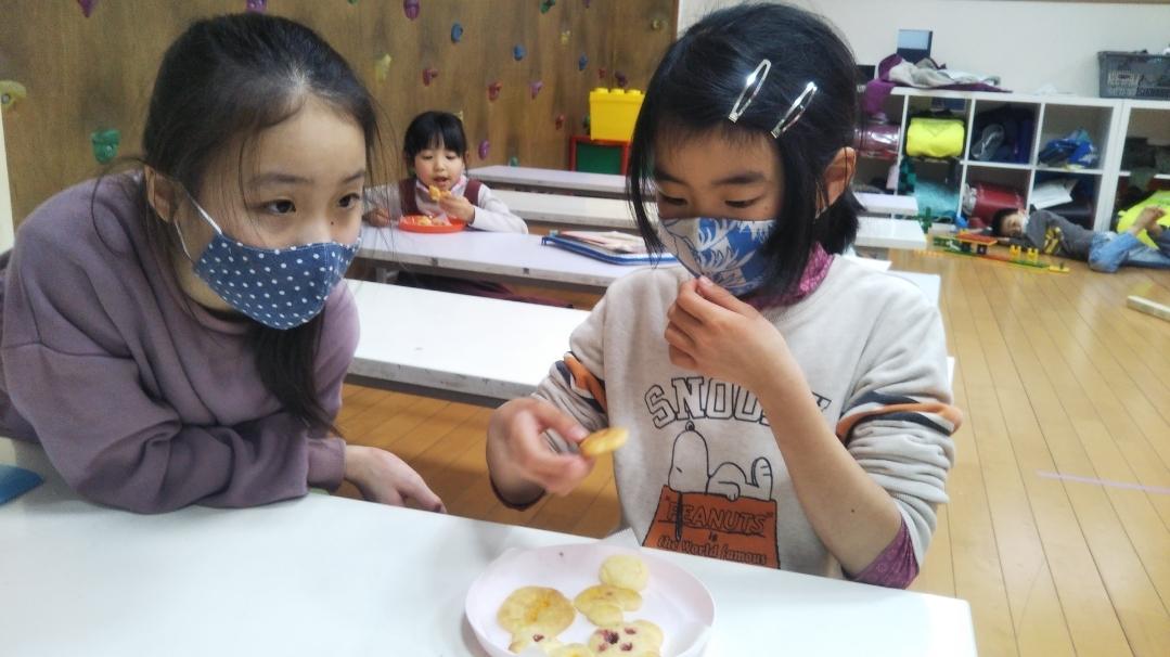 【Snack Cooking】1月13日 『ステンドグラスクッキーづくりに挑戦!』_f0225094_14050864.jpg