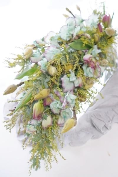 茎まで美しいパリスタイルの投げ入れ_b0151911_21551507.jpg