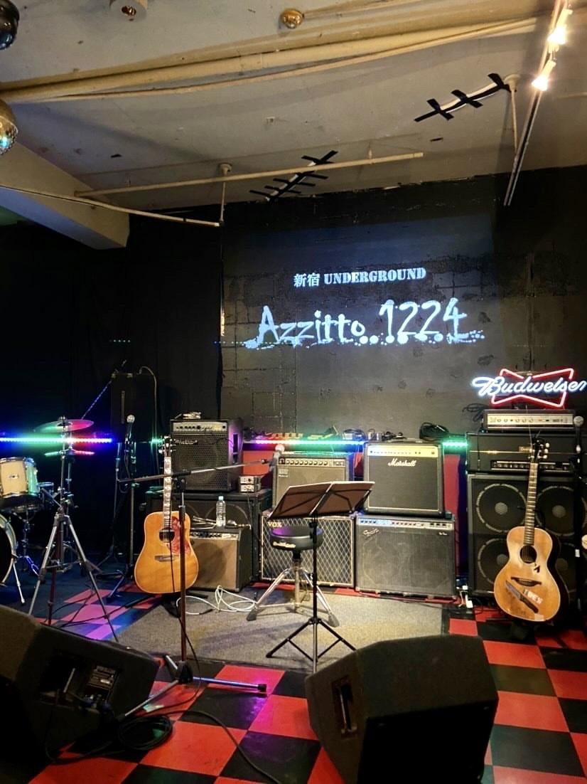 孤独のギター 第138話 「ありがとう、新宿UNDERGROUND Azzitto1224」_d0359212_21170562.jpg